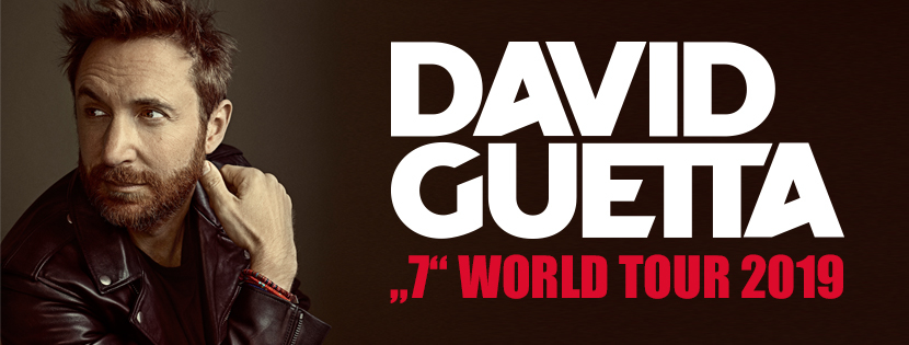 DAVID GUETTA 7 WORLD TOUR
