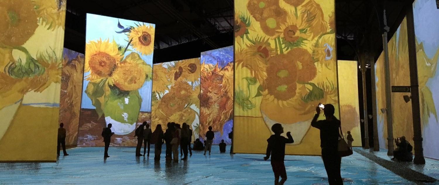 IMAGINE VAN GOGH<BR> UNE EXPOSITION IMMERSIVE