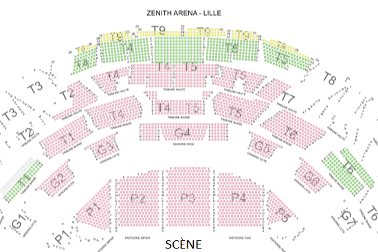 LILLE - ZENITH ARENA
